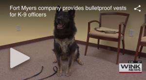 Survival Armor Provides Bulletproof Vests For K-9Officers