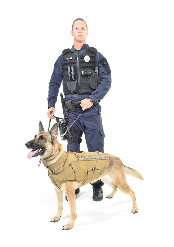 K9 vest for Ballistic dog